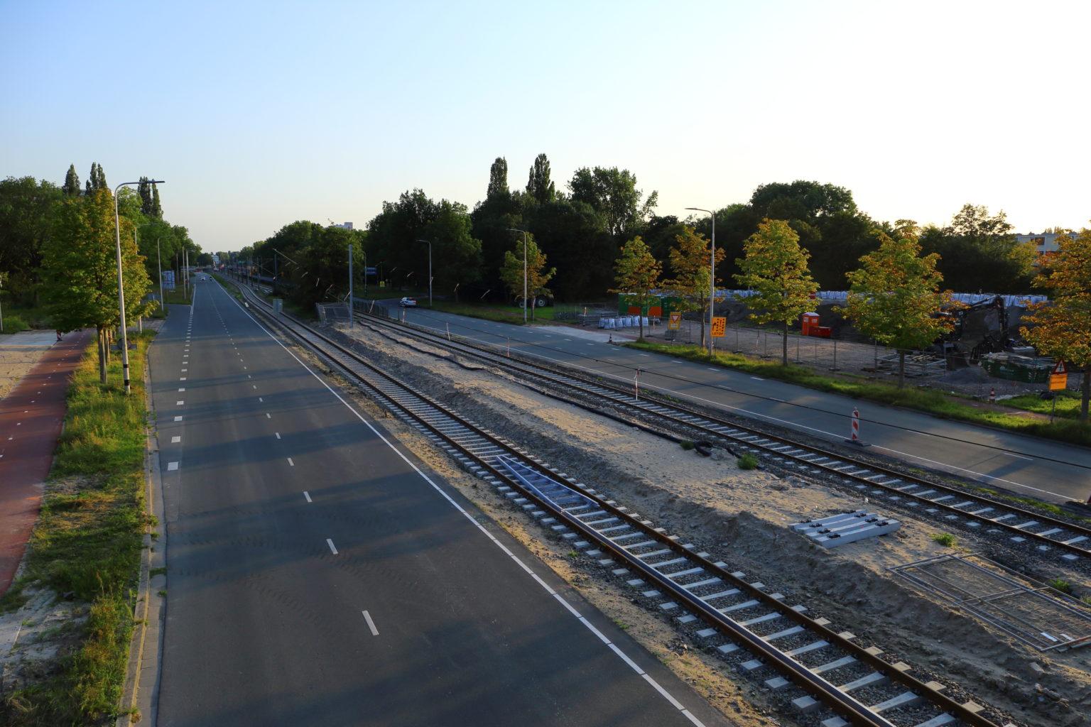 In 2019 is de bouw van de Amstelveenlijn volop bezog